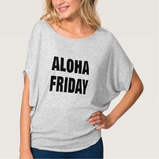 Camiseta design engraçado do t-shirt do tgif de sexta-feira
