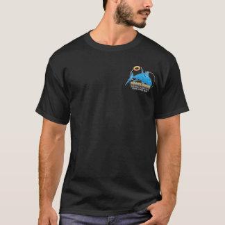 Camiseta Design escuro do t-shirt dos navios de pesca a