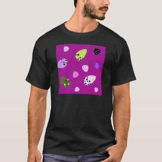 Camiseta Design exótico desenhado mão surpreendente da arte