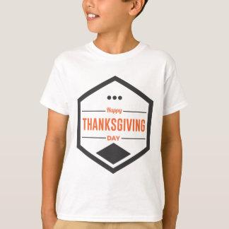 Camiseta Design feliz do dia da acção de graças