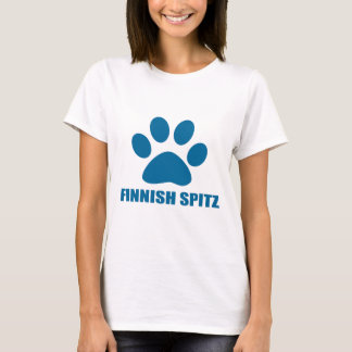 CAMISETA DESIGN FINLANDÊS DO CÃO DO SPITZ