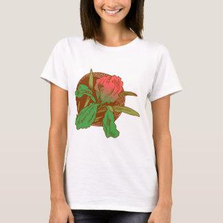 Camiseta Design floral