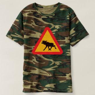 Camiseta Design gráfico dos alces |