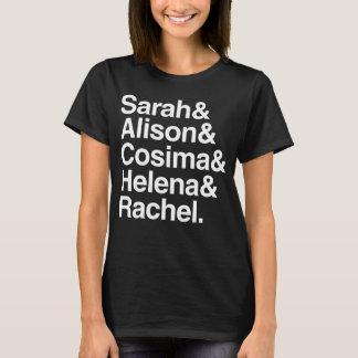 Camiseta Design Helvética órfão do preto |