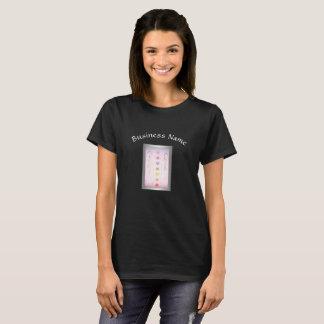 Camiseta Design holístico das mãos curas de prata