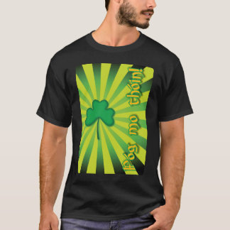 Camiseta Design irlandês celta do Grunge