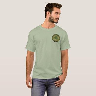 """Camiseta Design irlandês do vintage """"100%"""", decalque"""