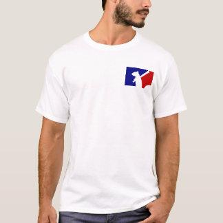 Camiseta Design irritado do esquilo do reciclador da liga