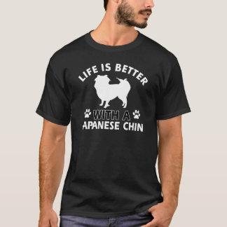 Camiseta Design japonês da raça do cão