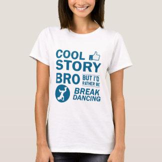 Camiseta Design legal da dança de ruptura