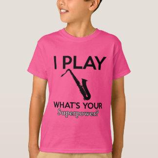 Camiseta design legal do saxofone