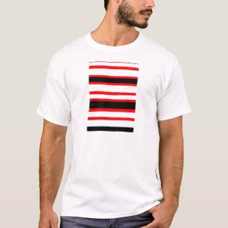 Camiseta Design listrado da abstracção
