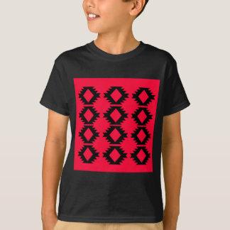 Camiseta Design maia vermelho do design de Ethno