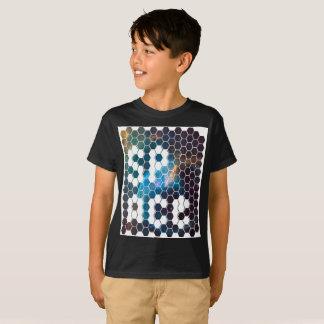 Camiseta Design moderno e futurista do viajante do espaço