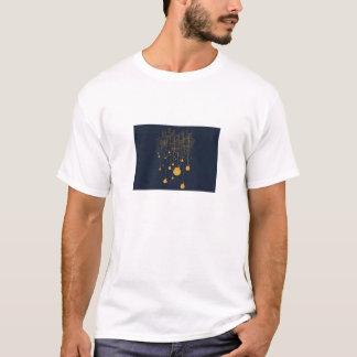 Camiseta Design negativo da arte do espaço