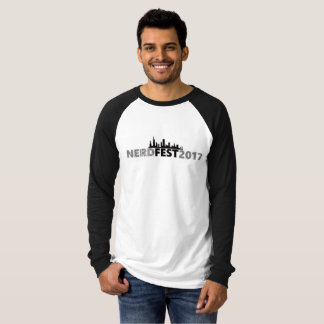 Camiseta Design oficial 2 do TShirt de Nerdfest