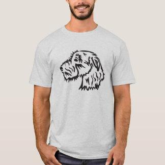 Camiseta Design original do t-shirt do cão do Wolfhound
