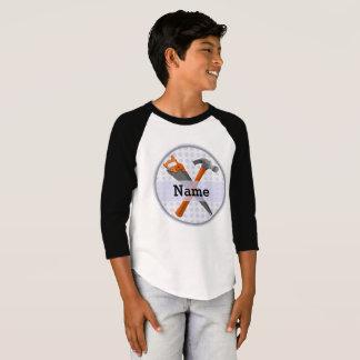 Camiseta Design personalizado nomeado das ferramentas para