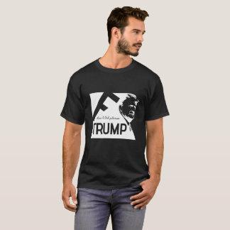 Camiseta Design preto do t-shirt do F-Trunfo