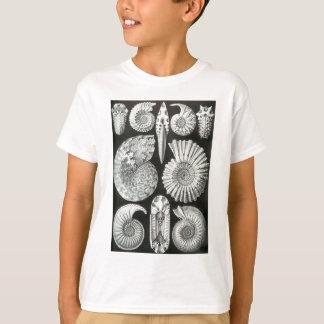 Camiseta Design preto e branco bonito do teste padrão das