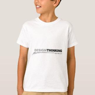 Camiseta Design que pensa o relâmpago de Havaí