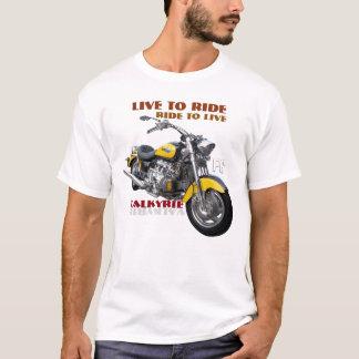 Camiseta Design regular da motocicleta de Valkyrie