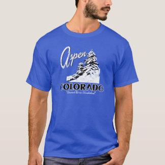 Camiseta Design retro de Aspen Colorado EUA