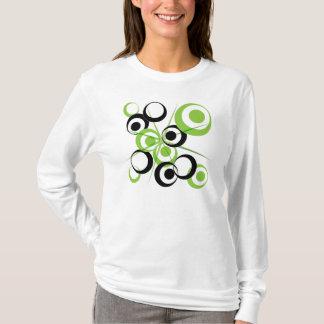 Camiseta Design retro do círculo
