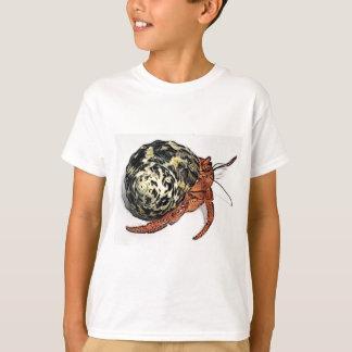 Camiseta Design roxo do caranguejo de eremita de Pincher