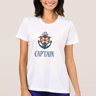 Camiseta Design temático do capitão Navigação