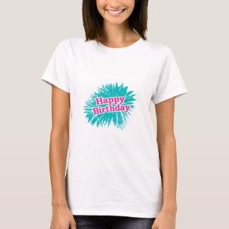 Camiseta Design tipográfico feliz de Brithday