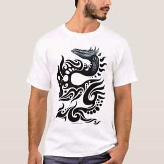 Camiseta Design tribal do dragão