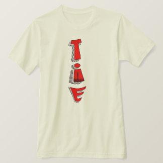 Camiseta Design vermelho do t-shirt do laço
