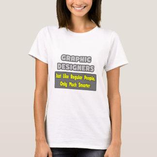 Camiseta Designer gráficos… mais espertos