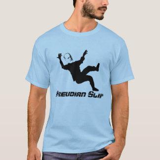 Camiseta Deslizamento freudiano