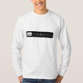 Camiseta Deslize para destravar