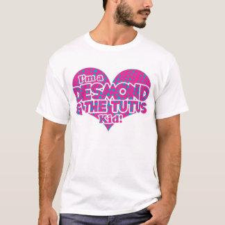 Camiseta Desmond & os triângulos do tutu - azul & os