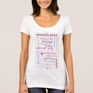 Camiseta Desordem da palavra do Mindfulness