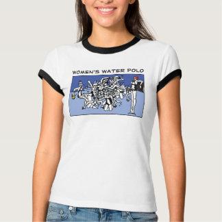 Camiseta Desordem do pólo aquático das mulheres