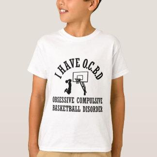 Camiseta Desordem obsessionante engraçada do basquetebol