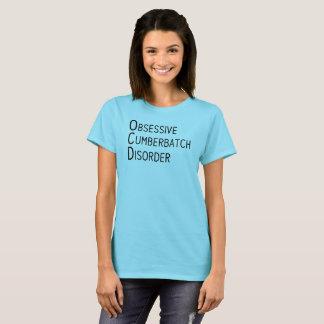 Camiseta Desordem obsessiva de Cumberbatch