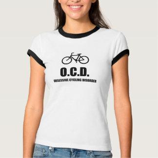 Camiseta Desordem obsessiva do ciclismo