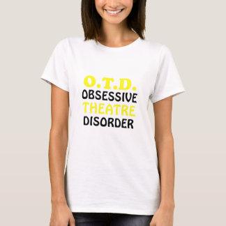 Camiseta Desordem obsessiva do teatro de OTD