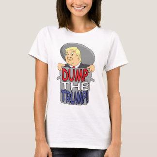 Camiseta Despeje o trunfo! O t-shirt das mulheres