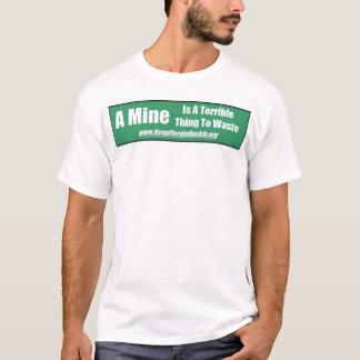 Camiseta Desperdício da mina 2 de KFR
