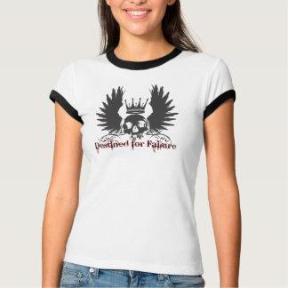 Camiseta Destinado para o crânio da falha