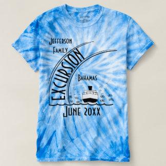 Camiseta Destino do cruzeiro da reunião de família do