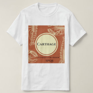 Camiseta Destrua o t-shirt de Carthage