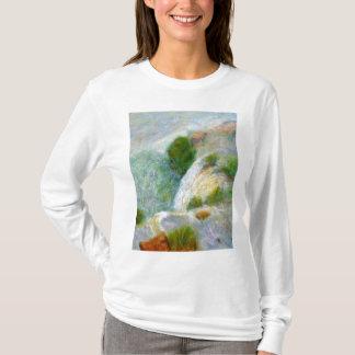 Camiseta Detalhe, cachoeira na névoa, o t-shirt das