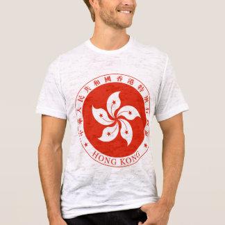 Camiseta Detalhe da brasão de Hong Kong